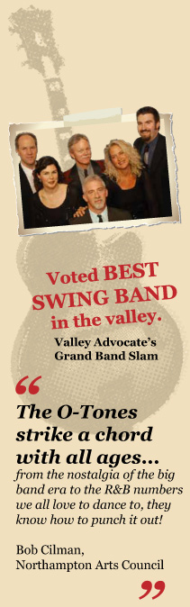 Voted BEST SWING BAND in the Valley!